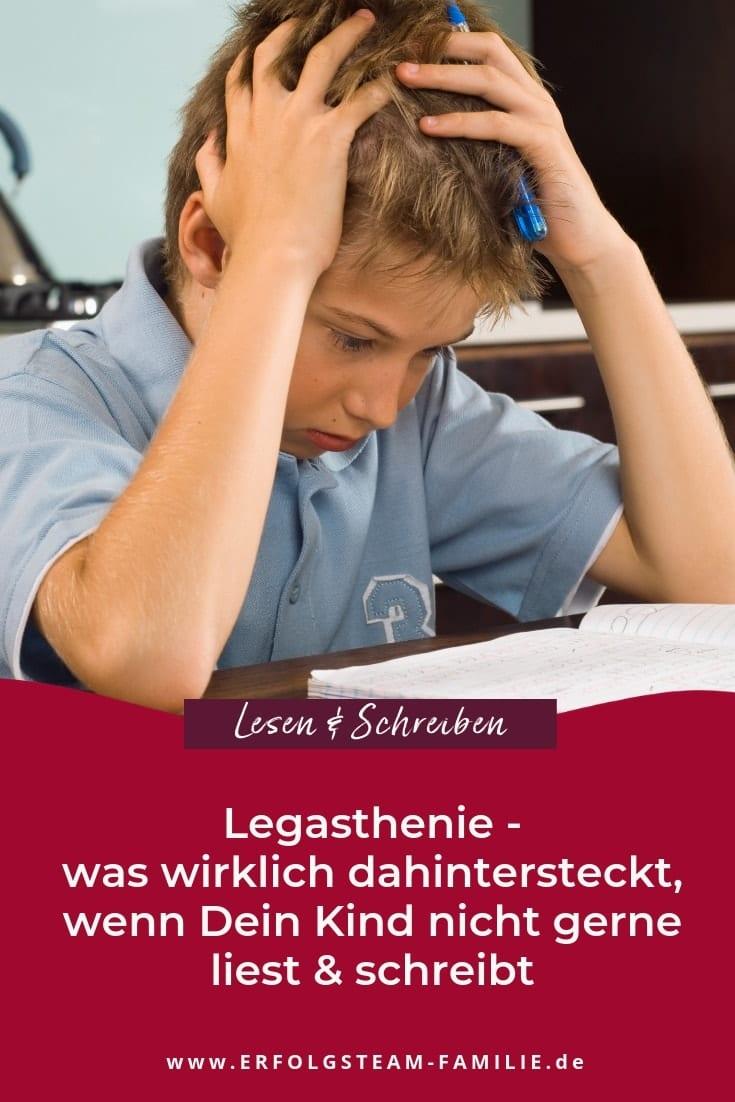 Legasthenie – Was wirklich dahintersteckt, wenn dein Kind nicht gerne liest und schreibt
